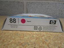 Genuine C9387AN HP 88 Magenta Ink Cartridges New In Sealed Exp.May.2010 Feb.2011