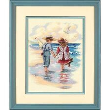 Dimensions - Counted Cross Stitch Kit - Holding Hands - Beach - D13721