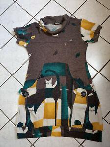 Smashed Lemon Kleid Herbst Winter Gr. L = wie 38/40 Katzen