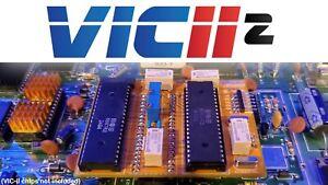 VIC-II² PAL/NTSC Switcher Kit with LumaFix forCommodore 64 250407/250425/250466