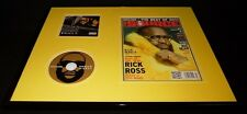 Rick Ross 16x20 Framed ORIGINAL 2011 The Source Magazine Cover & CD Display