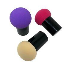 3pc Random Mushroom Beauty Makeup Blending Sponge Foundation Powder Blender