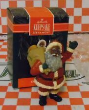 Hallmark Keepsake Ornament Cheerful Santa Mint In Box