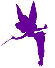 """Tinker Bell Fairy Purple 6"""" Car Truck VINYL Decal Art Wall Sticker USA Kids Fun"""