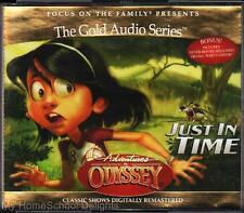 NEW Adventures in Odyssey # 9 JUST IN TIME 4 CD Audio Set Christian Kids FOTF