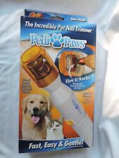 Pedi Paws Nail Trimmer Grinder Grooming Tool Care For Pet Dog Cat