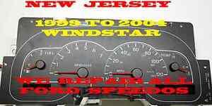 1999 2000 2001 2002 2003 FORD WINDSTAR INSTRUMENT CLUSTER REPAIR