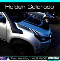 2015-2018 HOLDEN Colorado side bonnet stripes decals stickers decal sticker
