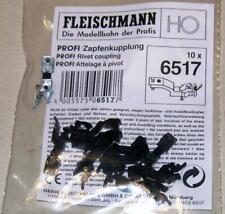 """2 Stück Fleischmann 6517 /""""Profi Zapfenkupplung/"""" H0"""