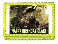 Jungle Book Edible Cake topper decoration - personalized free!
