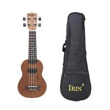 17'' Ukulele Heart Shape Soundhole 4 String Guitar w/ Gig Bag Sapele Wood