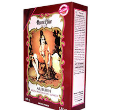 Henna Hair Dye Auburn Colour Colourant Powder Henne Paris 100g Ammonia Free UK