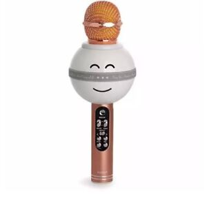 Soundcheck WS-878 Karaoke Microphone and Wireless Bluetooth Hi-Fi Speaker PINK