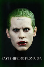 1/6 Joker Head Sculpt Jared Leto Suicide Squad For Hot Toys Phicen ❶IN STOCK❶