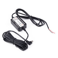 12V to 5V Mini USB Wire Car Charger For DVR Power Box Camera Recorder GPS Phone