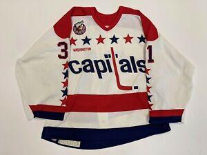 RICK TABARACCI/OLAF KOLZIG Washington Capitals GAME USED 1992-1993 Season Jersey