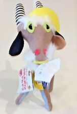 Dakin Dream Pets Billy Goat Tan Black Stripe Horns 45868 Stuffed NWT Collectable