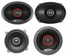 "(2) MB QUART FKB169 6x9"" 300 Watt Car Speakers+(2) 5.25"" 180 Watt Speakers"