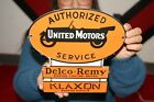 Authorized+United+Motors+Service+Delco-Remy+Chevrolet+Porcelain+Metal+Sign