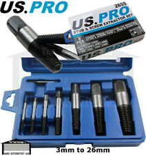 8pc Stud Bolt Screw Extractor Remover Set for Rusted Rounded Seized Bolts 2655