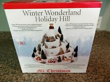 2006 Mr Christmas Winter Wonderland Holiday Hill 30 Songs Complete