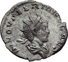 Divus VALERIAN II Gallienus Son Silver Ancient Roman CONSECRATIO Coin i65333