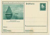 DT.REICH Friedrich Ebert 6 Pf 1932 ungebrauchte Bildpost-GA Besucht ARENDSEE