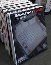 WeatherTech FloorLiner 2017-2019 TOYOTA COROLLA 1st row coverage - Gray 4611091