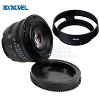 25mm F/1.8 HD MC Manual Focus Lens +Hood for Fuji Fujifilm X-E2 X-E1 X-Pro1 X-M1
