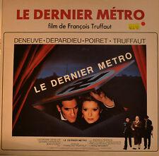 """OST - SOUNDTRACK - LE DERNIER METRO - FRANÇOIS TRUFFAUT 12"""" LP (L343)"""