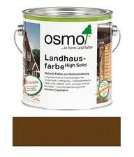 Osmo Landhausfarbe Mittelbraun 0,75 l TOP NEUWARE