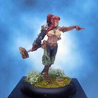 Painted Wyrd Miniature Taelor Lady Hammerstrike