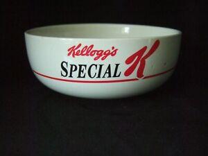 Vintage Retro Kellogg's Special K Ceramic Cereal Bowl 1987