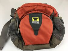 Mountainsmith Recycled Lumbar Fanny Waist Pack Daypack Rust Red