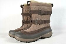 COLUMBIA WOMENS FLURRY OMNI-HEAT INSULATED WINTER SNOW BOOTS - TAN (Size 7)NICE!