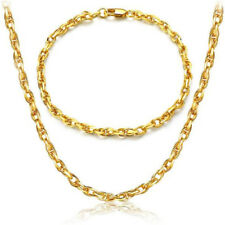 New Fashion 18K Gold Filled Finding Chain Necklace/Bracelet Jewelry Wholesale
