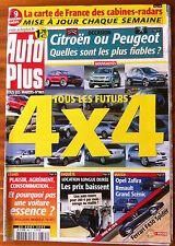 AUTO PLUS du 23/08/2005; Tous les futurs 4x4/ Opel Zafira-Renault Scènic/ Fiable