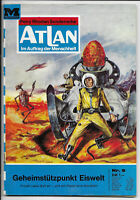 Atlan Nr.9 von 1970 - TOP Z1 Science Fiction MOEWIG ROMANHEFT