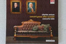 Charles Avison Concerti Grossi after Scarlatti Concerto Köln (Box13)