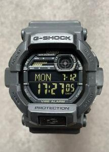 Casio GD-350-1BER Mens G-Shock Military Black Digital Watch 200m WR Vibrate