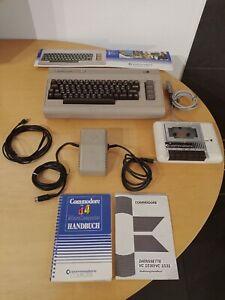 Commodore C64 Brotkasten, Rarität mit Zubehör