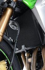 R&G RADIATOR GUARD BLACK - KAWASAKI Z750 / Z800 / Z1000 / Z1000SX / VERSYS 1000