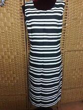 Ladies MILLERS Stripe Dress Size 20