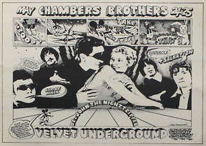 Reproduction The Velvet Underground - Chamber Brothers Poster, Home Wall Art