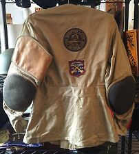 Vintage Original Shooting Jacket 10 X Imperial Reeves Army Twill Hunting Size 40
