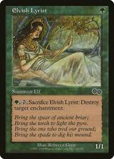 Magic MTG Tradingcard Urza's Saga 1998 Elvish Lyrist 248/350