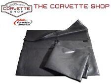 C3 Corvette T-Top Storage Bag Black - Hook & Loop Closure Bags 1968-1982 X4050