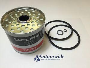 HDF296 Genuine Delphi Fuel Filter - Lucas - CAV 7111-296 x 1
