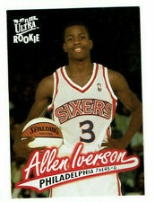 1996-97 Fleer Ultra Allen Iverson Rookie Card #82