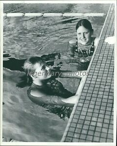 1972 Gould & Babashoff Olympic 200 M Freestyle Winners Orig News Service Photo